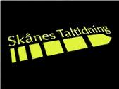 Skånes Taltidnings logotyp.